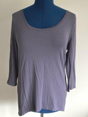 Friendtex Long Shirt grey violet viscose