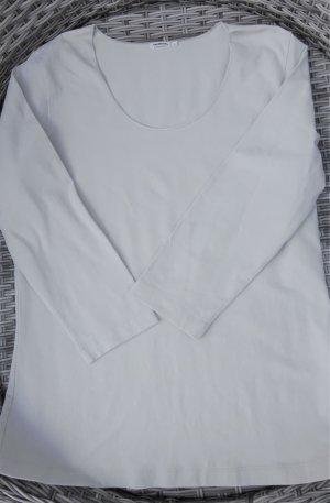 Sandwich T-shirt beige Cotone