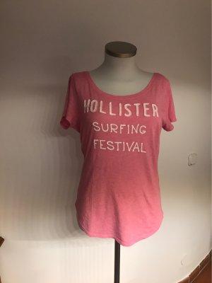 Holister Camisa deportiva rosa
