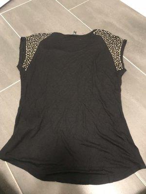 Amisu T-shirt czarny