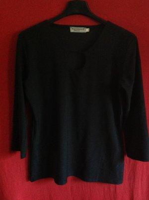 V-Neck Shirt black mixture fibre