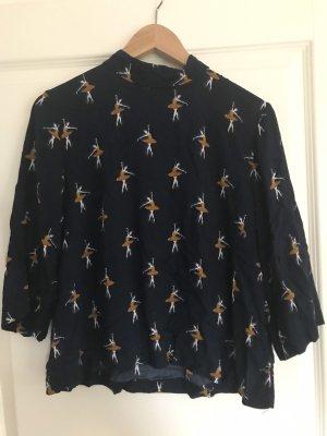 Shirt mit Ballerina Muster
