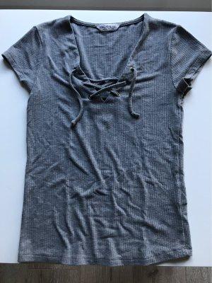 Shirt mit Bindedetails