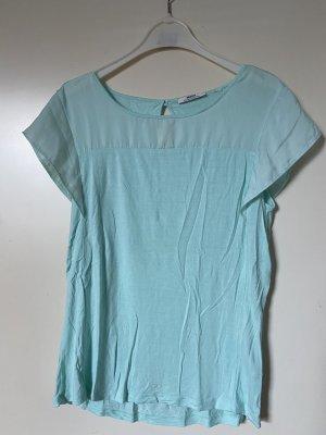 Shirt mit Chiffon Stoff