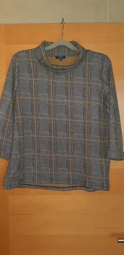 Tom Tailor Koszulka z dekoltem woda antracyt