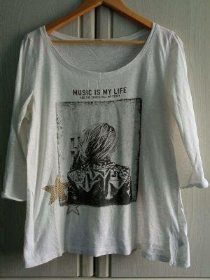 Shirt mit dreiviertellangen Armen von S.Oliver