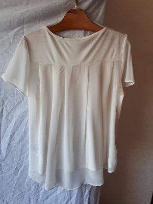 Shirt mit durchsichtigem Rückenteil
