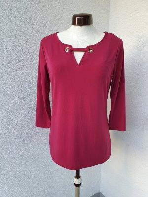 Jones New York V-Neck Shirt multicolored polyester