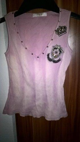 Batik Shirt light pink-dusky pink cotton