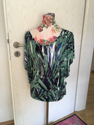 Amisu Koszulka typu batik Wielokolorowy