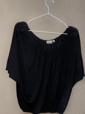 Sublevel V-Neck Shirt black