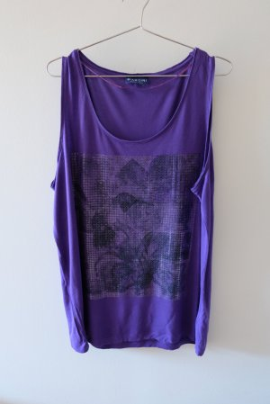 Biaggini Débardeur marcel violet viscose