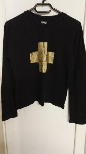Shirt mit Glitzer Kreuz