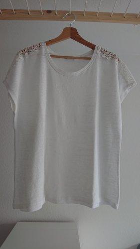 Shirt mit Häkelmuster