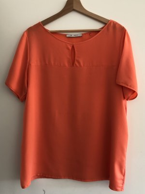 Shirt mit Jerseyeinsatz