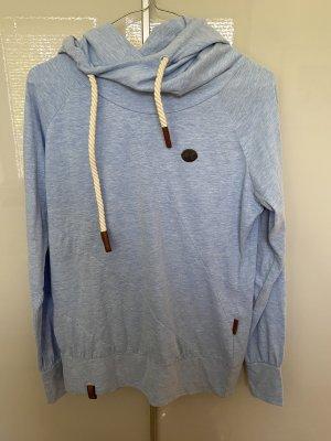 Shirt mit Kapuze , hellblau , Naketano, Größe M , neu