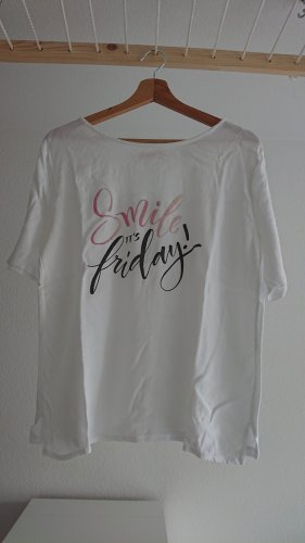 s.Oliver Shirt basique blanc