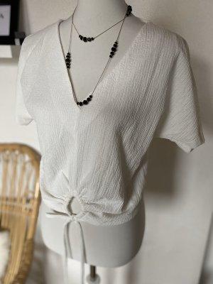 Shirt mit Knotendetails Zara