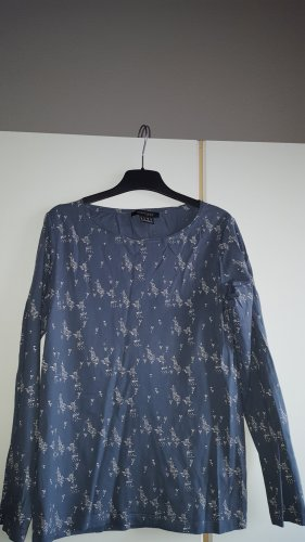 Mark Adam Boatneck Shirt slate-gray