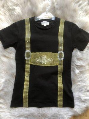 Shirt mit Lederhosenaufdruck