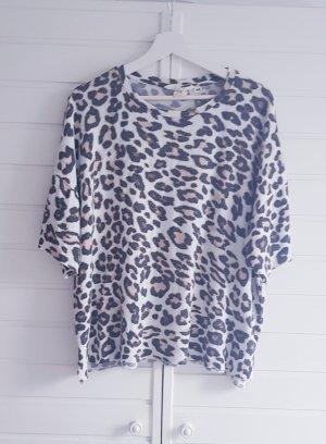 Shirt mit Leoprint
