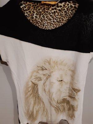 Crisca Print Shirt multicolored