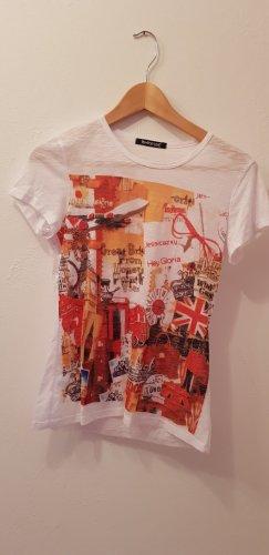 """Shirt mit """"London Aufdruck"""", Gr 36 / 38"""