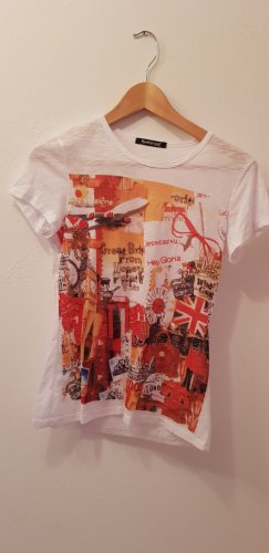 "Shirt mit ""London Aufdruck"", Gr 36 / 38"