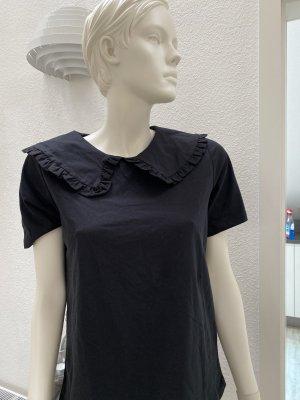 Shirt mit modernen großen Kragen