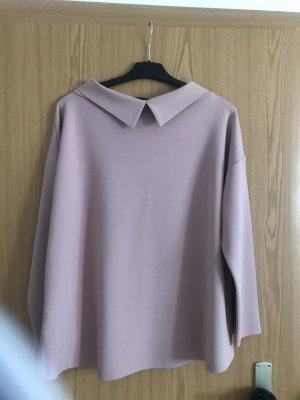 Amy Vermont Cowl-Neck Shirt dusky pink
