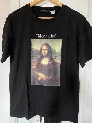 """Shirt mit """"Mona Lisa"""" Druck größe M Neu"""