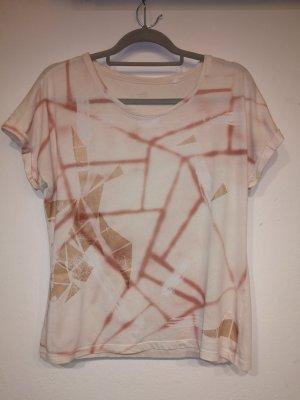 Shirt mit Mosaik Muster