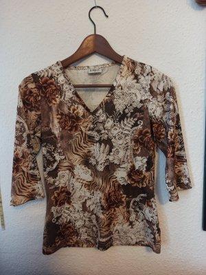 Shirt mit Muster Gr. S Neu
