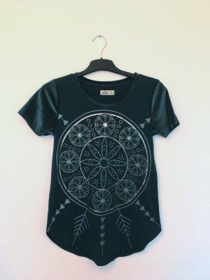 Shirt mit Muster und Samt