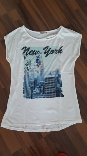 Shirt mit New York Aufdruck