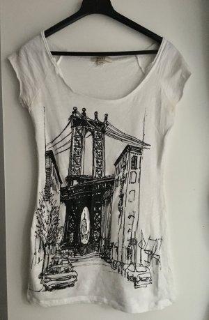 Shirt mit  New York Motiv