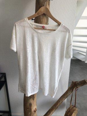 Shirt mit offenem Rücken