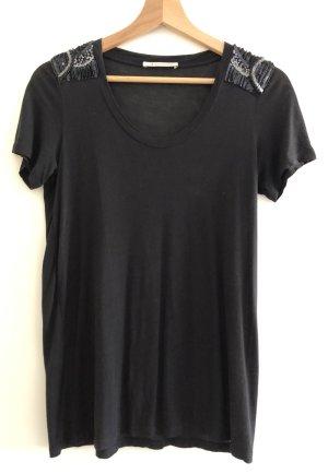 Shirt mit Pailettenverzierung