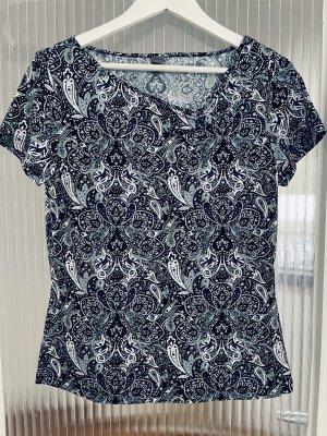 Shirt mit Paisley Muster