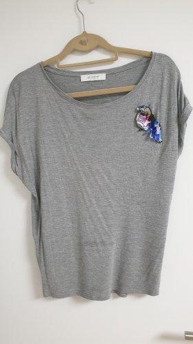 Shirt mit Pallietten Accessoir