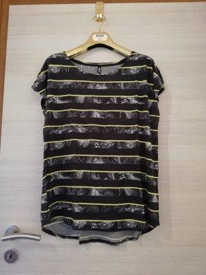 1982 T-shirt noir-jaune