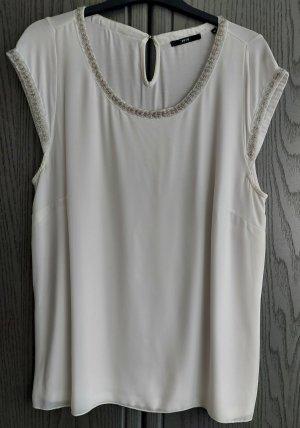 Shirt mit Perlenapplikation