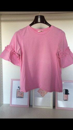 H&M Camicia oversize rosa