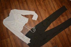 Ambiance V-Neck Shirt white