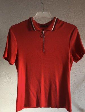 Shirt mit Reißverschluss