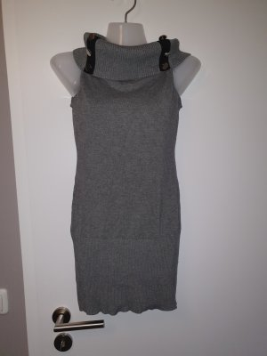 Turtleneck Shirt black-grey
