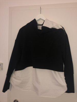 Shirt mit rollkragenpulli
