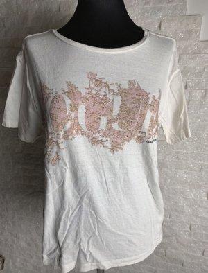Shirt mit rose Aufdruck