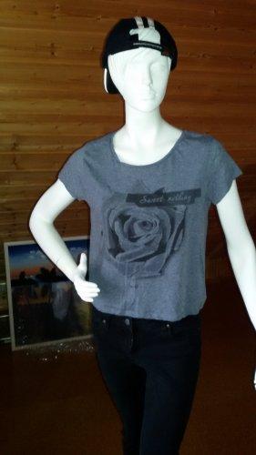 shirt mit Rosen Druck größe M