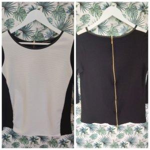 Shirt mit Rückenreißverschluss